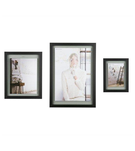 BePureHome Shift black wood frame XL 70x50x1,8cm - Wonen met LEF!
