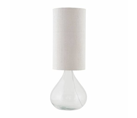Housedoctor Big white lampshade fabric 30x55cm