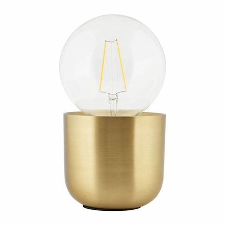 Housedoctor Tischlampe Gleam Messing, Kupfer 12x12x10,5cm