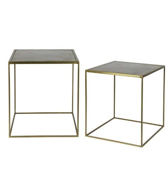 bepurehome beistelltisch metallic messing gold metall satz. Black Bedroom Furniture Sets. Home Design Ideas