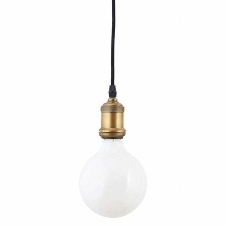 Housedoctor ampoule LED en verre blanc 175x125mm