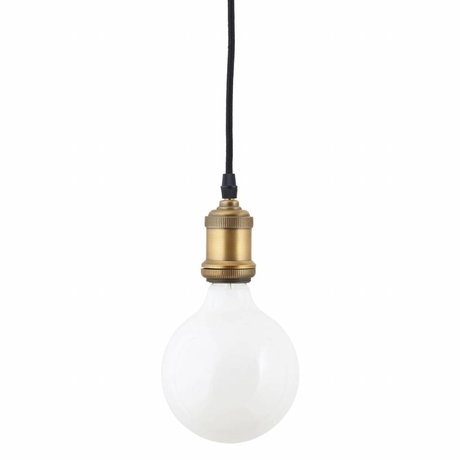 Housedoctor LED-Lampe weißes Glas 175x125mm