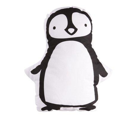 A Little Lovely Company Kussen pinguin 30x34cm