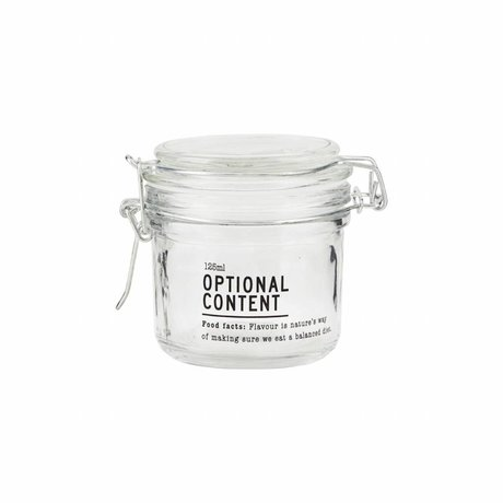Housedoctor Optional glass jar content 8,3x8,3x8,3 cm 125ml