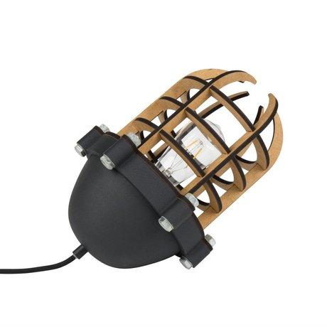 Zuiver Tafellamp Navigator zwart metaal 22,5x32cm