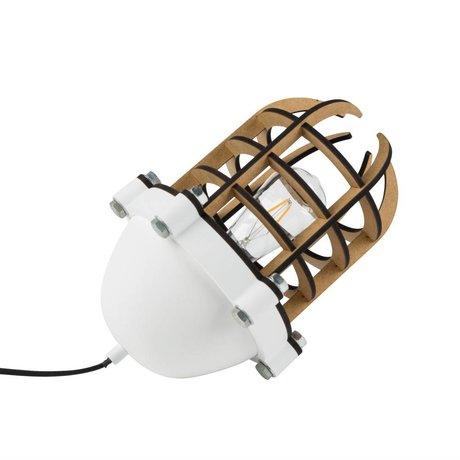 Zuiver Tafellamp Navigator wit metaal 22,5x32cm