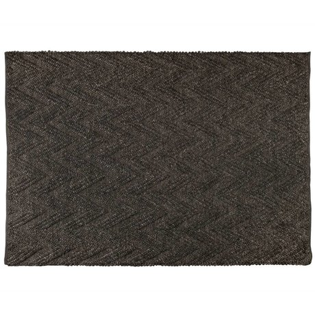 Zuiver Rug Punja Marled gray brown wool 170x240x1cm
