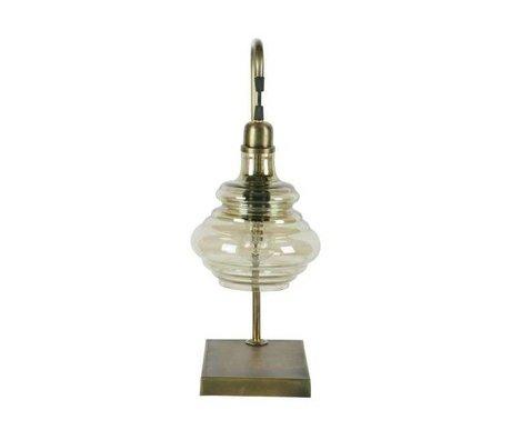 BePureHome Lampe de table en laiton Obvious 49x20x16cm en métal doré