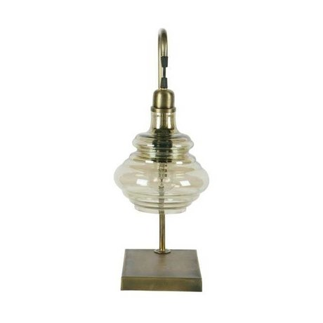 BePureHome Table Lamp Obvious brass gold metal 49x20x16cm