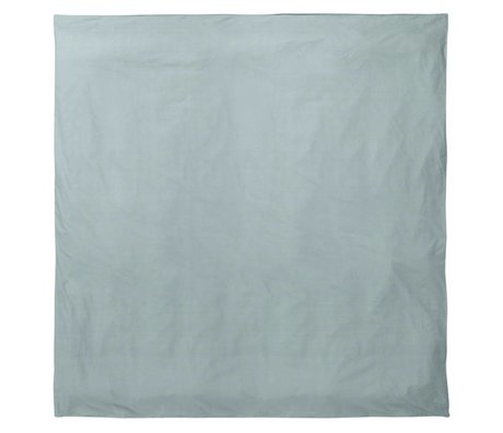 Ferm Living Duvet Hush dusty blue organic cotton 200x200cm