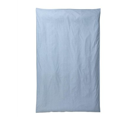 Ferm Living Hush duvet light blue organic cotton 140x220cm