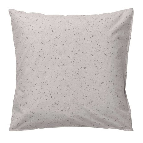 Ferm Living Cushion Hush Milkyway cream organic cotton 80x80cm