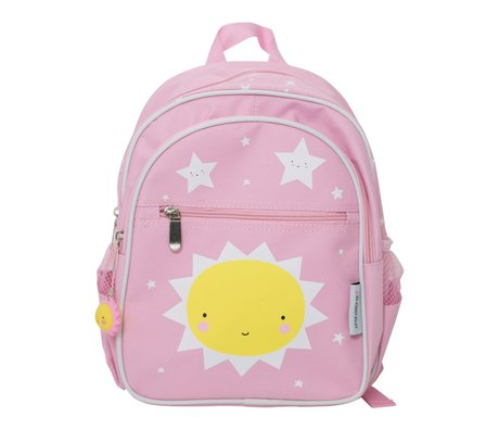 A Little Lovely Company Backpack Miss Sunshine 25x31.5x15.5cm