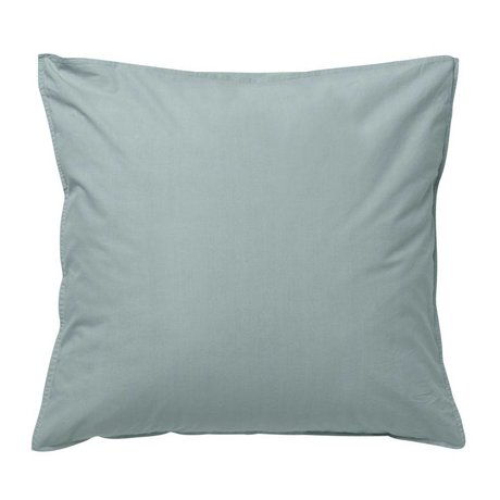 Ferm Living Cushion Hush dusty blue organic cotton 63x60cm
