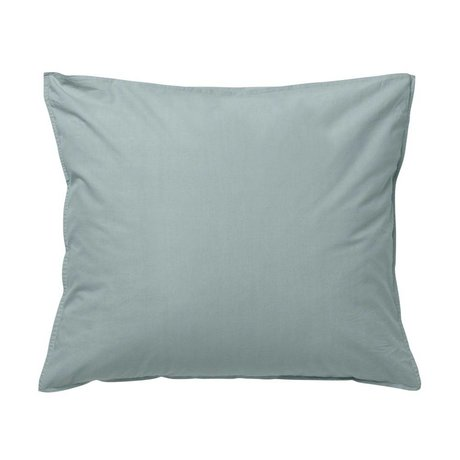 Ferm Living Cushion Hush dusty blue organic cotton 60x50cm