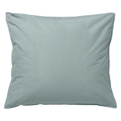 Ferm Living Cushion Hush dusty blue organic cotton 60x70cm