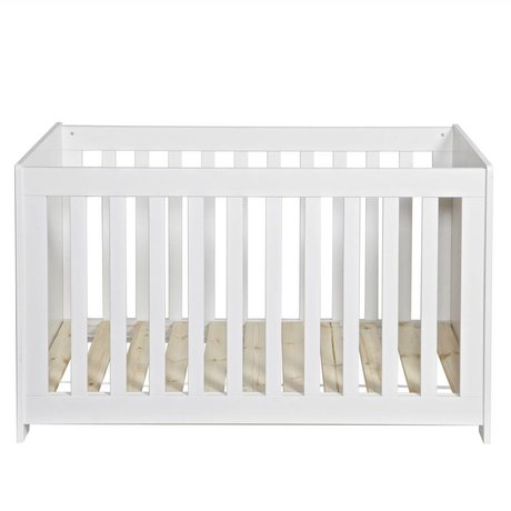 LEF collections Bedstead 'new life' white pine 79x125x66cm
