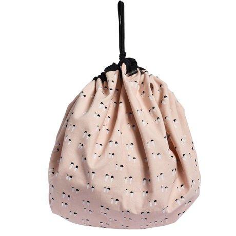 OYOY Tasche Playsack rosa Bio-Baumwolle 138cm