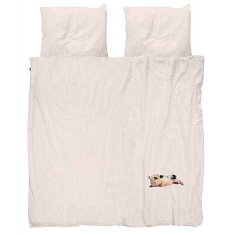 Snurk Beddengoed Duvet Miss Peggy pink 200x200 / 220 cm incl pillowcase 60x70cm