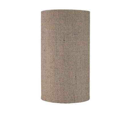 Housedoctor Big natural brown shade textile ø30x55cm
