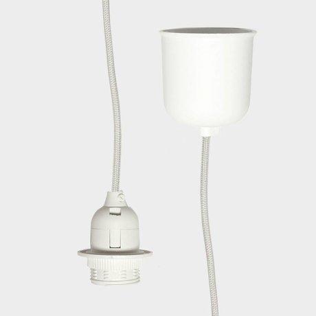 Ferm Living Cord with E27 Cream textile 2M