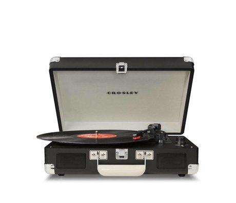 Crosley Radio Crosley Radio-Crosley Cruiser Tafel schwarz 33,5x25,4x10,2cm