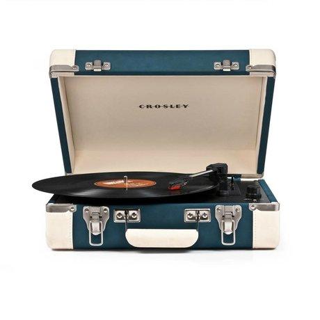Crosley Radio Crosley radio Crosley Executive blauw créme 35,5x28x11,4cm