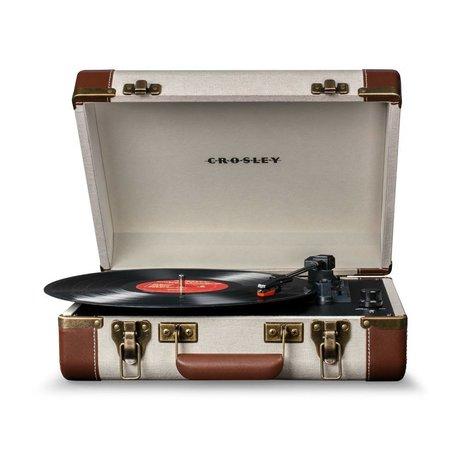 Crosley Radio Crosley Radio-Crosley Executive-braun beige 35,5x28x11,4cm