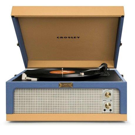 Crosley Radio Crosley Radio Crosley Jr. Dansette blue beige 35,5x40,6x19cm