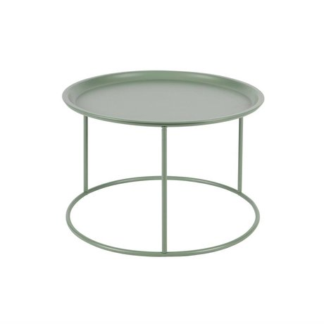 LEF collections Occasional table Ivar jade green metallic L 37,5x56cm