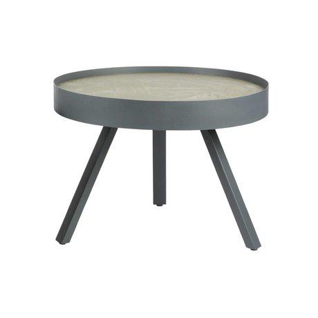 LEF collections Table d'appoint Aller béton gris M Ø58x44 cm