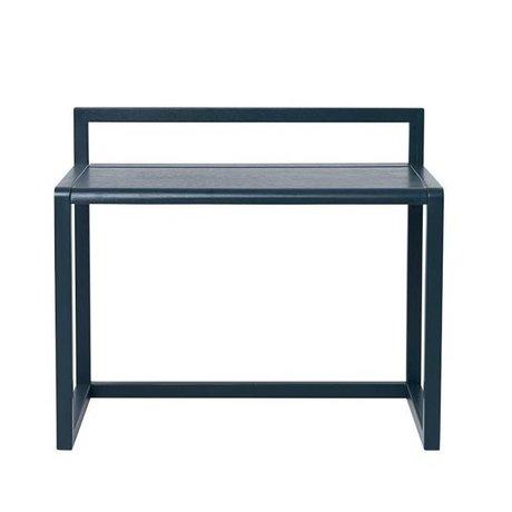 Ferm Living Kleiner Schreibtisch Architekt dunkelblau Holz 70x45x60cm