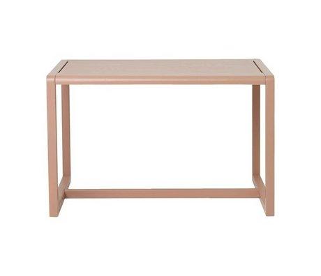 Ferm Living Tafel Little Architect roze hout 76x55x43cm