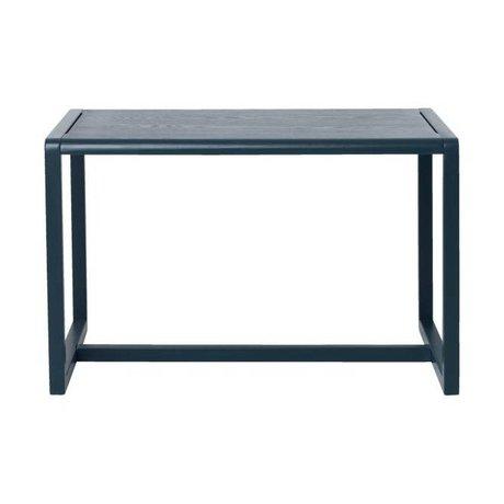 Ferm Living Tableau Petit Architecte bleu foncé 76x55x43cm bois