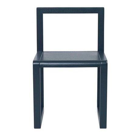 Ferm Living Président de Little Architect bleu foncé 32x51x30cm bois