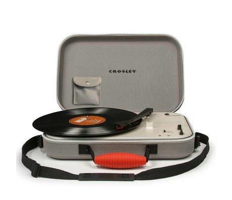 Crosley Radio Crosley radio Crosley Messenger grijs 39x29,8x9cm