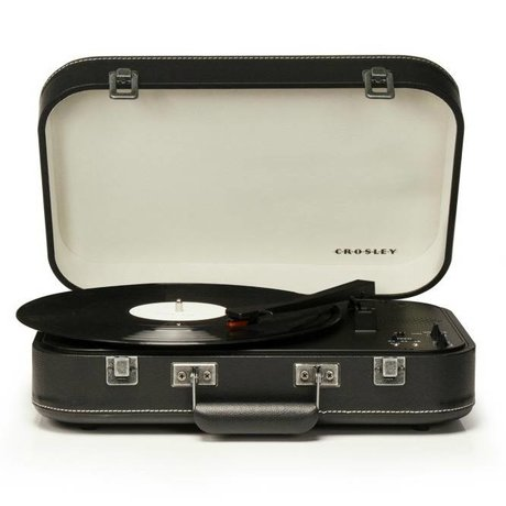 Crosley Radio Crosley Radio Crosley Coupe Black 39x29,8x9cm