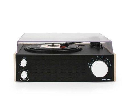 Crosley Radio Crosley radio Crosley Switch naturel bruin 30,5x27,3x12cm