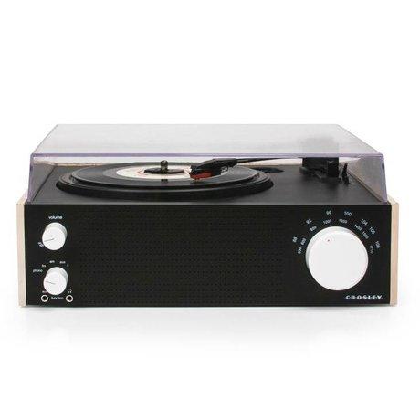 Crosley Radio Crosley Radio-Crosley Schalter naturbraun 30,5x27,3x12cm