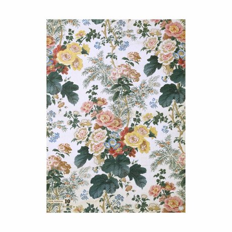 IXXI Wanddecoratie Hollyhock large multicolour papier 100x140cm