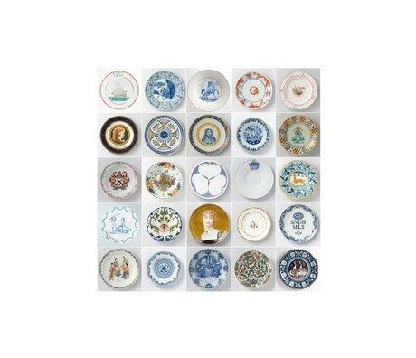 IXXI Wanddekoration Rijksmuseum kleinen Platten Mehrfarben 25 Karten 20x20cm
