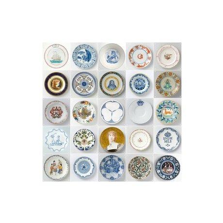 IXXI Wanddecoratie Rijksmuseum plates small multicolour 25 kaartjes 20x20cm