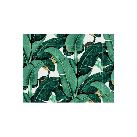 IXXI Wanddecoratie Banana Leaf medium multicolour papier 160x120cm