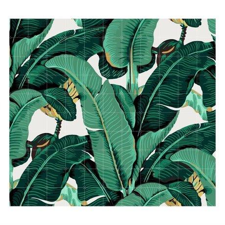 IXXI Wanddekoration Banana Leaf großen bunten Papier 220x200cm