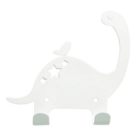 Eina Design Wall Hook Dino white metal 15x15,5cm