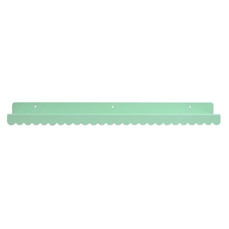 Eina Design Wandregal mint green metallic 50x9cm