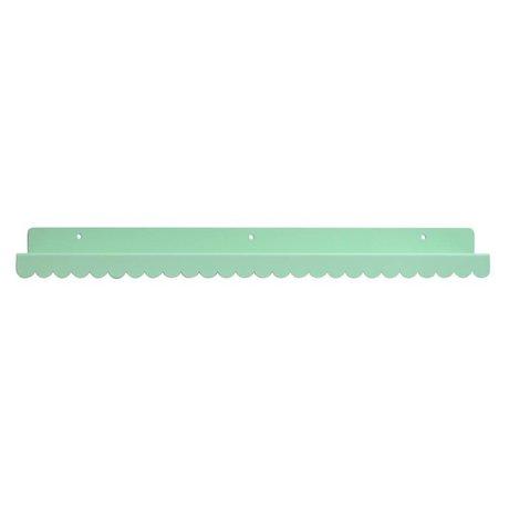 Eina Design Wandregal mint green metallic 50x9cm