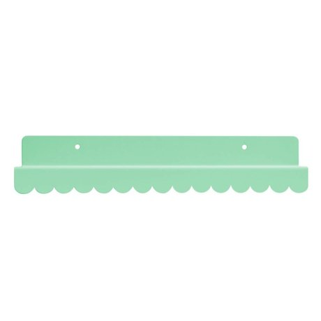 Eina Design Wandregal mint green metallic 29x9cm