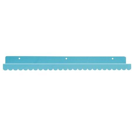 Eina Design Wandplank blauw metaal 50x9cm