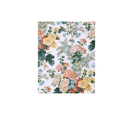 IXXI Wanddecoratie Hollyhock small multicolour papier 80x100cm